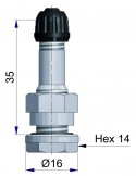 Вентиль латунный б/к  41534-68